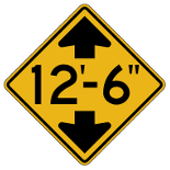 New York Road Signs | Low Clearance