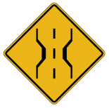 Minnesota Sample Permit Test Question 130 Road Sign