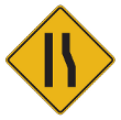 Tennessee Warning Road Signs | Lane Ends