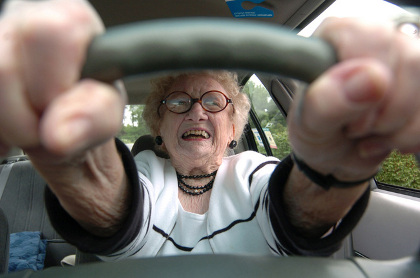 Elderly Rhode Island drivers license holders are more than capable on the road